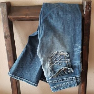 Buckle BKE brand size 29 stretch bootcut jeans